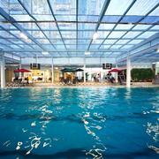 游泳馆玻璃吊顶设计