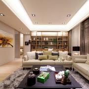 两室一厅整体客厅