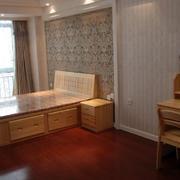公寓原木梳妆台设计