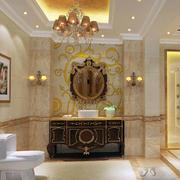 欧式奢华卫生间瓷砖