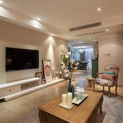 两室一厅电视墙设计