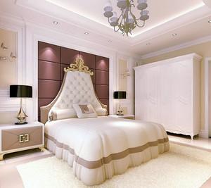 独具艺术美的现代卧室软包背景墙装修效果图素材大全