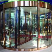 大型购物商场旋转门设计