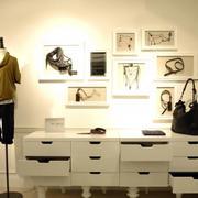 欧式服装店柜台上世纪