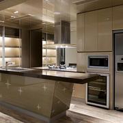 整体式厨房效果图