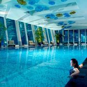 游泳池绿化设计