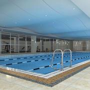 常用简约游泳馆设计