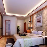 中式卧室背景墙设计