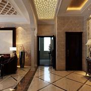 走廊吊顶灯光设计
