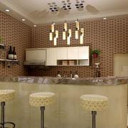 酒柜专用吧台设计