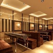 现代化火锅店背景墙