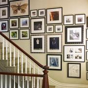 简约楼梯照片墙