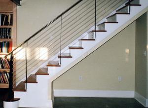 富于创造性的楼梯扶手装修效果图欣赏素材