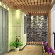 入户花园走廊吊顶设计