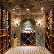 欧式整体酒窖设计