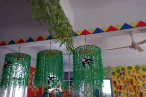 幼儿园环境布置之吊饰布置效果图大全