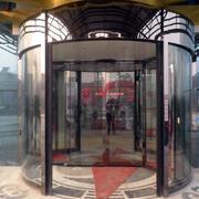 公共设施旋转门装修