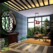 入户花园玻璃隔断设计