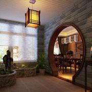 入户花园拱形门设计