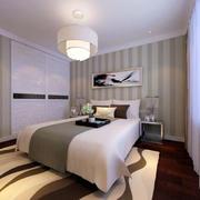 卧室床头条形设计