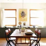 混搭风格餐厅桌椅