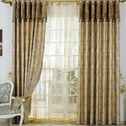 欧式气质窗帘设计