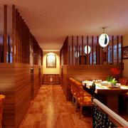 暖色韩式原木设计