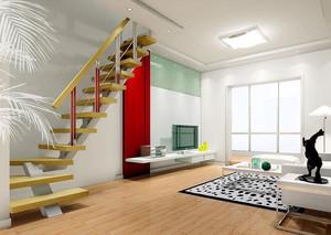 阁楼木式楼梯