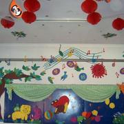 卡通风格幼儿园贴画