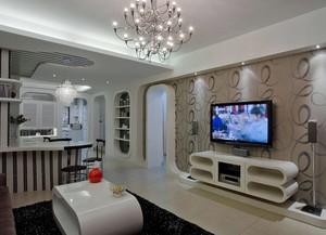 客厅电视背景墙壁纸效果图素材大全