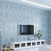银白色硅藻泥背景墙