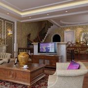 别墅客厅装修图