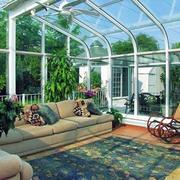 阳光房沙发设计