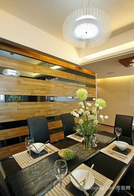 体现品位的欧式餐厅背景墙装修效果图素材大全
