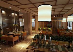 韩式餐厅吊顶效果图