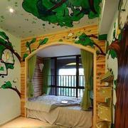 清新自然风格儿童房装修