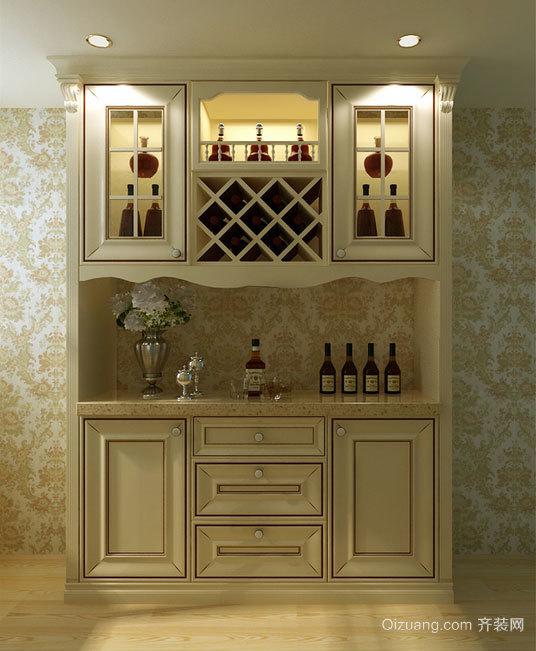 大户型经典家装欧式酒柜装修效果图图片大全