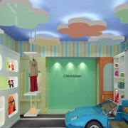 儿童店卡通吊顶效果图