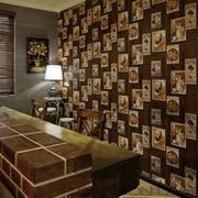 复古照片墙设计