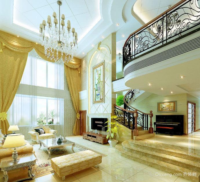 典雅别致的别墅客厅装修效果图素材大全