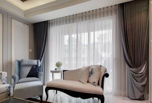 优雅高贵的简欧风格大户型两室一厅装修效果图