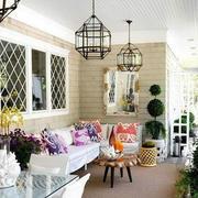 阳台沙发设计