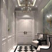 白色系欧式玄关设计