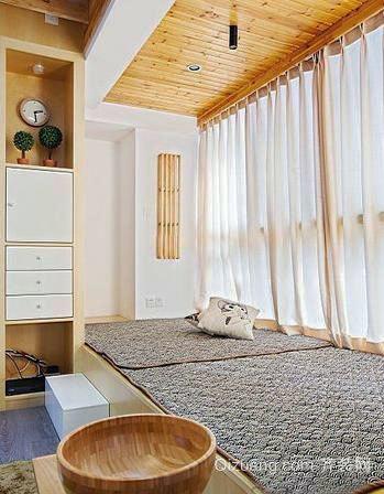 家里的温馨港湾:清新舒适的榻榻米装修效果图