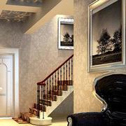 阁楼红木楼梯扶手设计