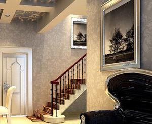 大户型精装阁楼楼梯装修效果图素材大全