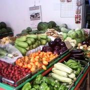 蔬菜超市货物摆放
