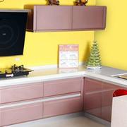 粉色厨房装修