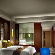 酒店装修欧式卧室效果图