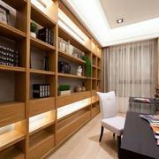 两室一厅书架设计